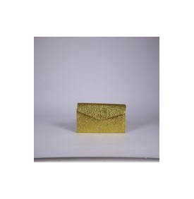 Pochette Maxi Pliage Crack Gold Craie
