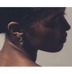 Boucles d'oreilles dorees Avi Chic Alors