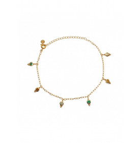 Bracelet de Cheville Dore...