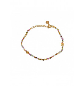 Bracelet Dore Tourmaline...