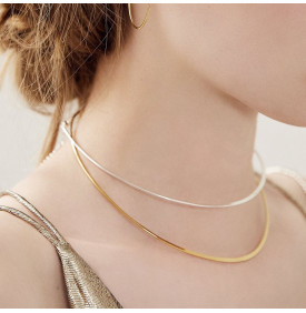 Collier Choker Pure Or BDM studio