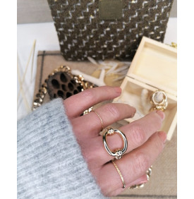 Bague Maille