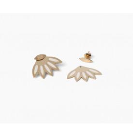 Boucles d'Oreilles Lulu Ivoires -...