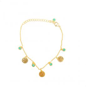 Bracelet Pendants Turquoise...