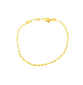Bracelet Pastilles Or -...