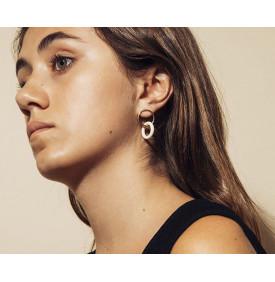 Boucles d'oreilles Pop Opaques Ivoire...