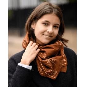 Foulard Anna Noisette -...