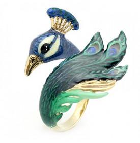 Bague Peacock