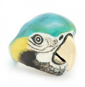 Bague Arara Macaw Parrot