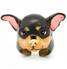 Bague Chihuahua Brownie