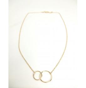 Collier 2 anneaux...