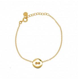 Bracelet Dore et Medaille...