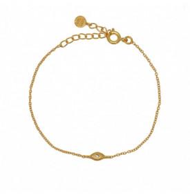 Bracelet Dore et Oeil...
