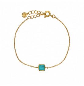 Bracelet Dore Turquoise...