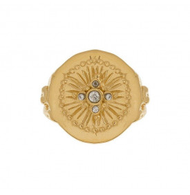 Bague Louise pierre zircon Leticia Ponti
