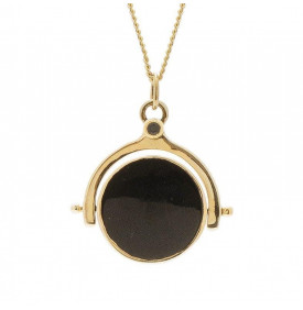 Collier Luck talisman onyx...
