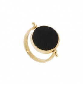 Bague Luck onyx double face...