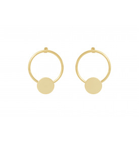 Boucles d'oreilles Alioth 4 Crosses