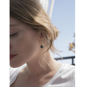 Boucles d'oreilles Louise 4 Crosses
