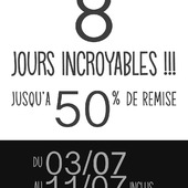 8 jours incroyables !!!...